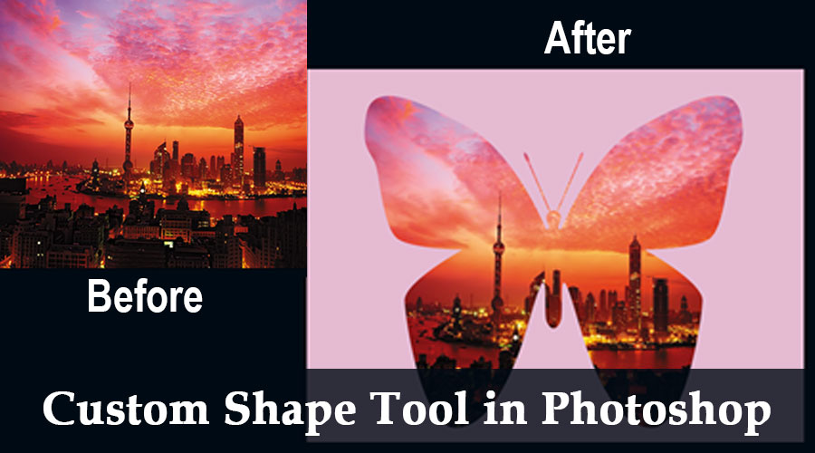 Custom Shape Tool in Photoshop