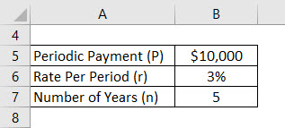 Future Value of Annuity Due Formula Example 1-1