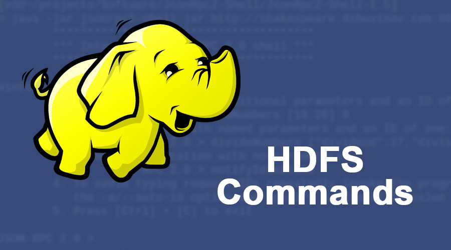 HDFS-Commands