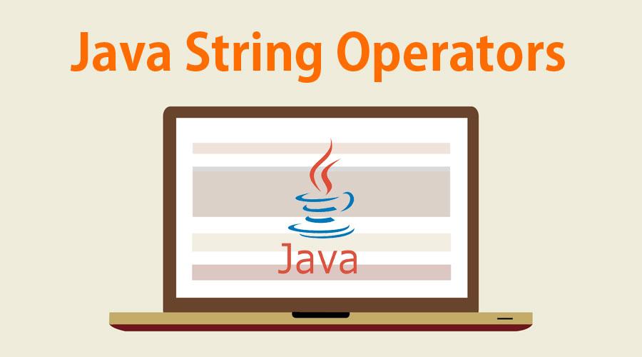 Java String Operators