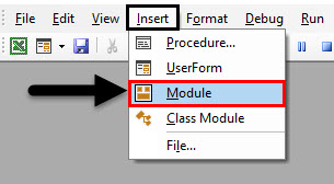 VBA IF NOT Module