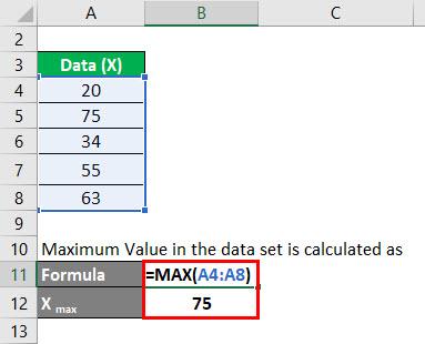 Normalization Formula Example 1-2