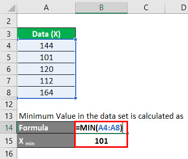 Normalization Formula Example 2-3