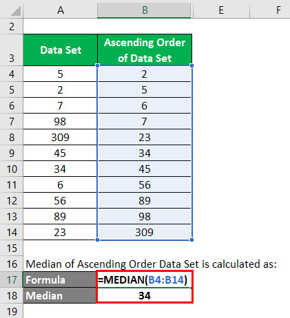 Outliers Formula Example 1-3