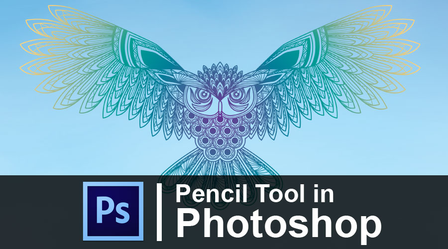 Pencil Tool in Photoshop