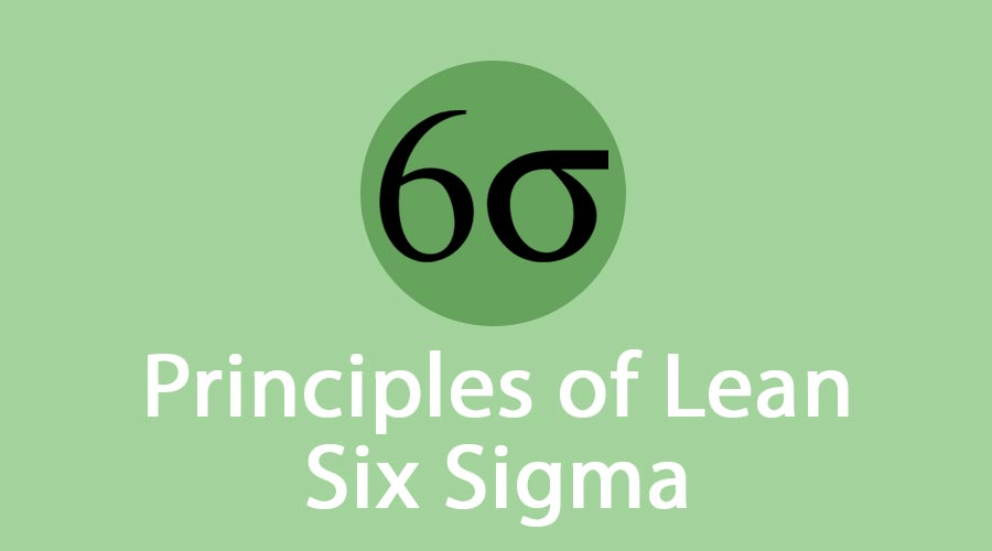 Principles of Lean Six Sigma