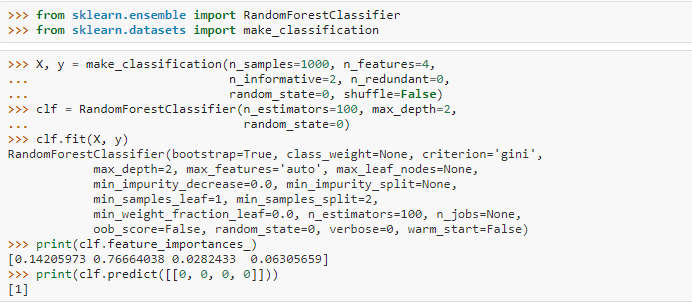 Python, you could code Random Forest 2(Machine Learning Algorithms)