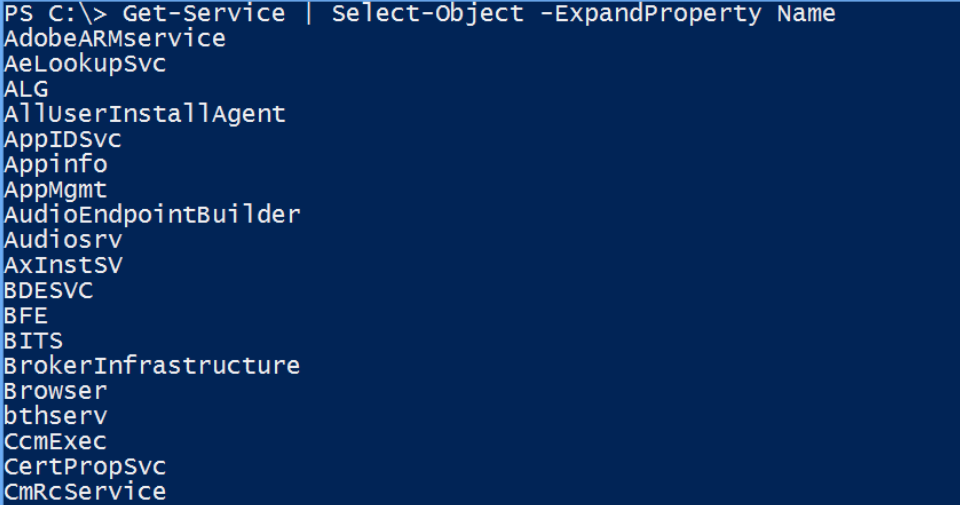 PowerShell Commands | Essential Commands of PowerShell