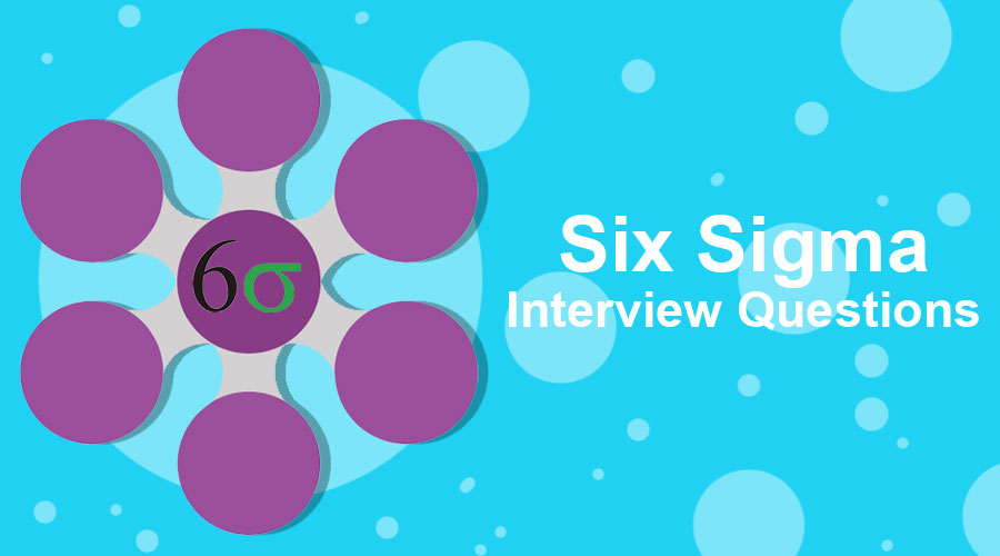 Six Sigma Interview Questions