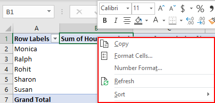 Pivot Table Sort in Excel | How to Sort Pivot Table Columns