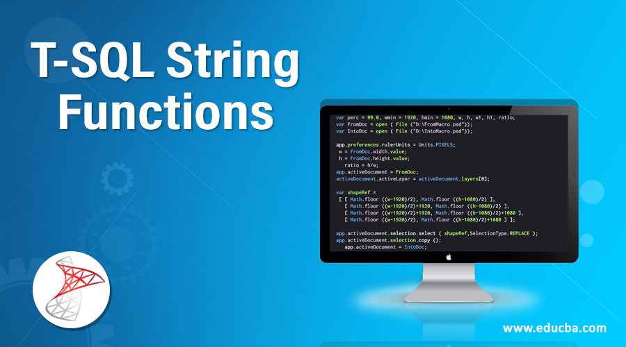 T-SQL String Functions