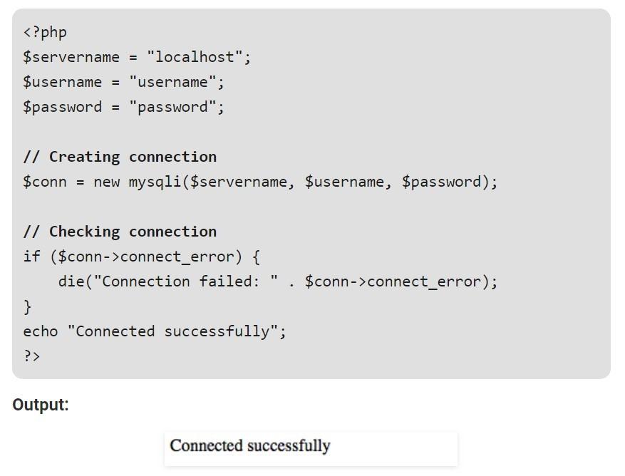 Using object-oriented MySQLi