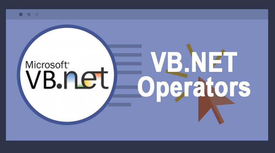 VB-NET-Operators