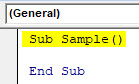 VBA Active Cell Example 1-3