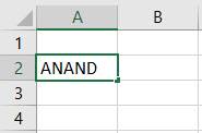 VBA Active Cell Example 1-5