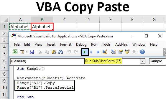 VBA Copy Paste | Guide To Copy and Paste in Excel VBA