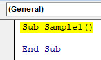 VBA Delete Row Example 2-2