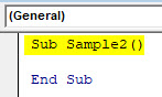 VBA Delete Row Example 3-2