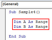 VBA Delete Row Example 5-3