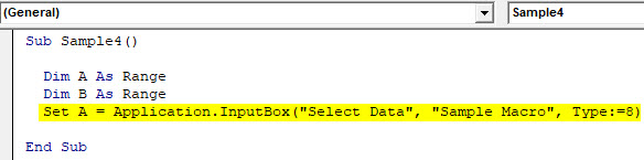 VBA Delete Row Example 5-4