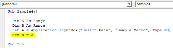VBA Delete Row Example 5-5
