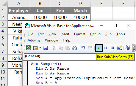 VBA Delete Row Example 5-7