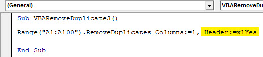 VBA Duplicates 3.5