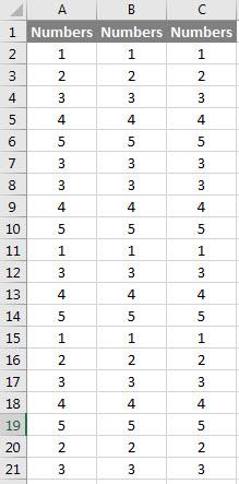 VBA Duplicates example 2.1