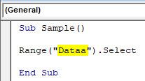VBA Error 1004 Example 1-5