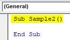 VBA Error 1004 Example 3-2