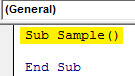 VBA IF NOT Example 1.2