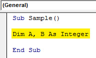 VBA IF NOT Example 1.3