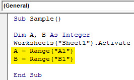 VBA IF NOT Example 1.5