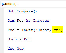 VBA Instr Example 1-7