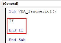 VBA IsNumeric Example 1-3
