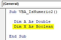 VBA IsNumeric Example 2-3