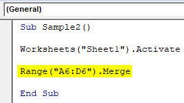 VBA Range Cells Example 3-4
