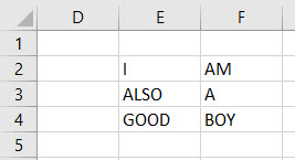 VBA Range Cells Example 4-1