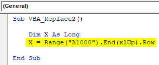 VBA Replace Example 1-5