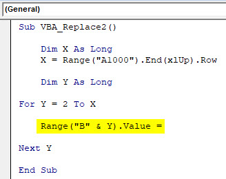 VBA Replace Example 1-8