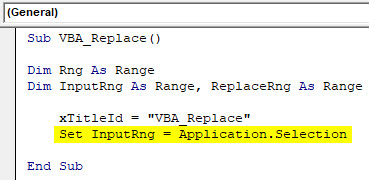 VBA Replace Example 2-5
