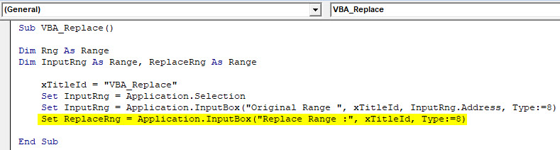 VBA Replace Example 2-7