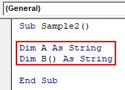 VBA Split Example 3-3