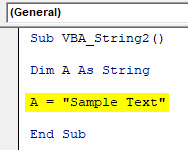 VBA String Example 2-3