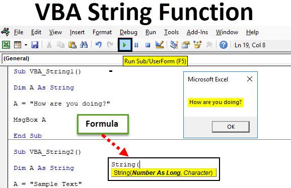 VBA String