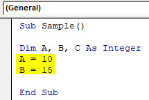 VBA Wait Example 1-5