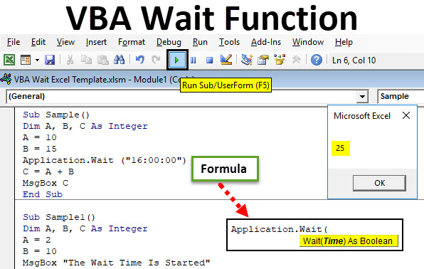 VBA Wait Function