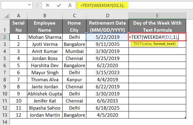 WEEKDAY Formula in Excel | How to Use WEEKDAY Formula in Excel?
