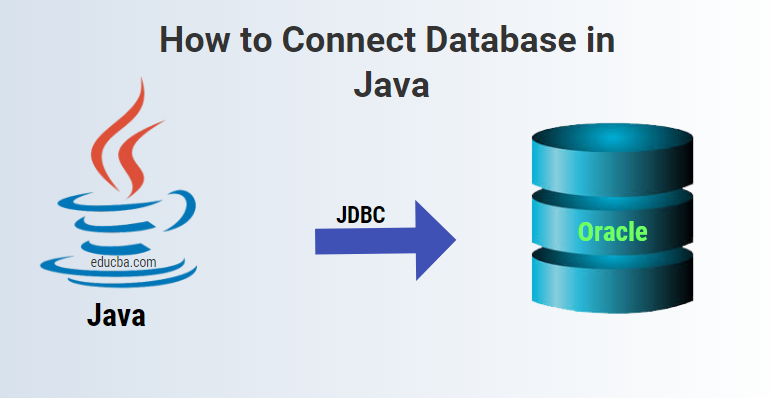 how to connect database in java