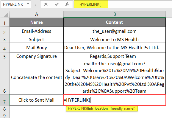 hyperlink example 3-5